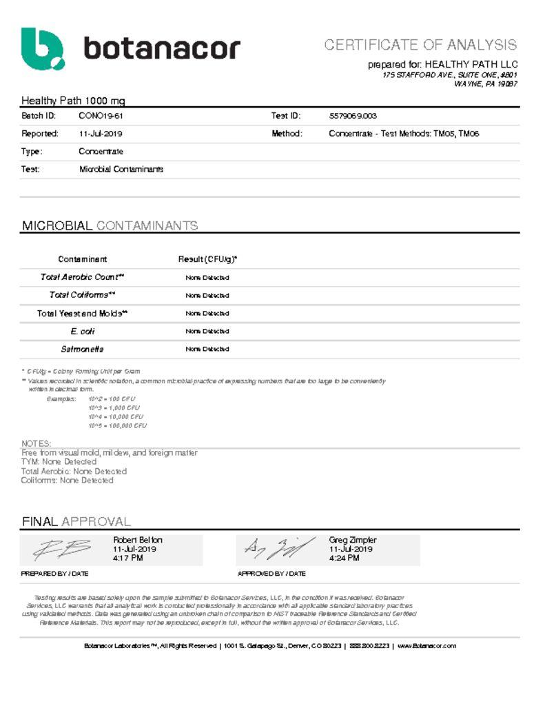 thumbnail of 1000 MG- Microbial Contaminants test – 7-19